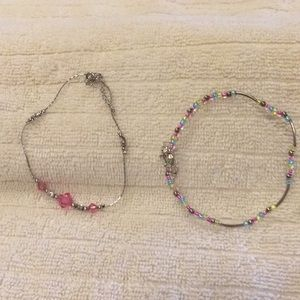 Jewelry - Two Anklets